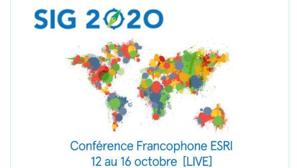 Conférence ESRI SIG 2020