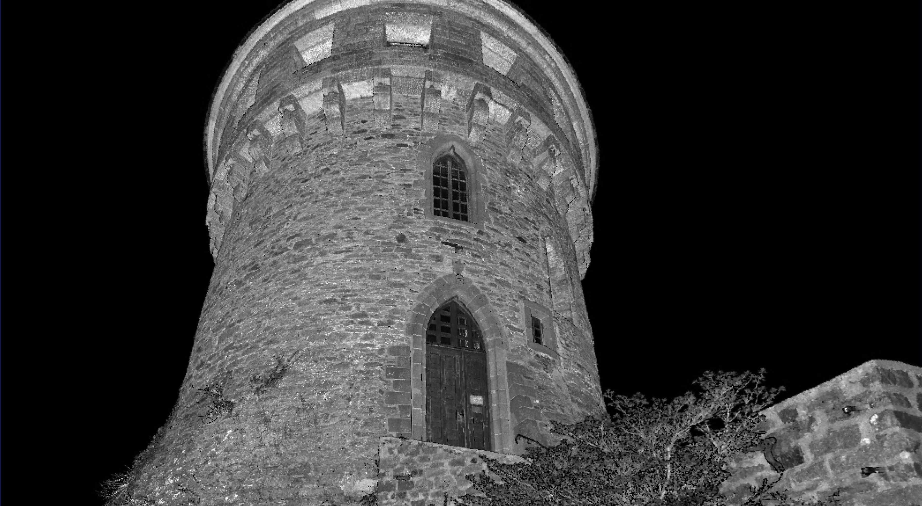 Nuage de points de la tour Tanguy de Brest