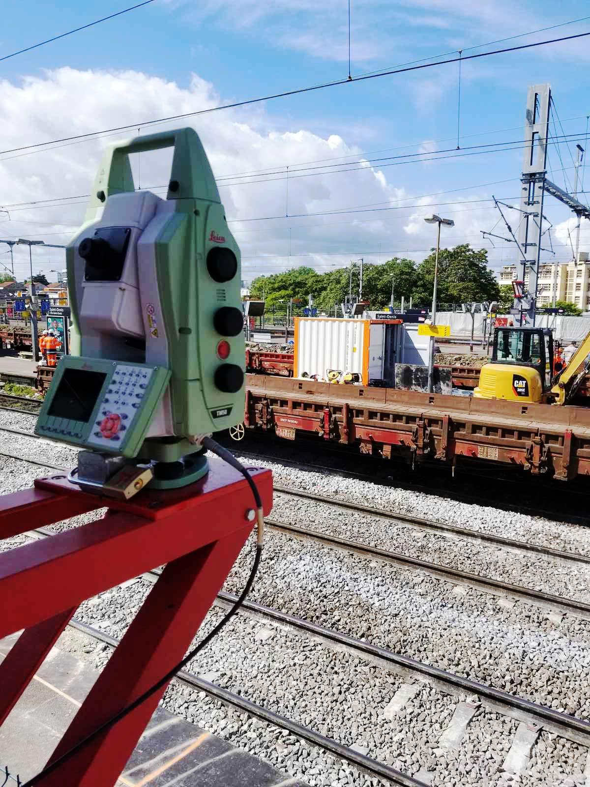 Chantier ferroviaire DEMATHIEU BARD / SNCF